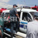 Երևանում փրկարարները, ոստիկաններն ու բժիշկները Դավիթաշենի կամրջի վրա կանխել են ինքնասպանության փորձը