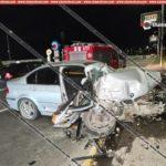 Խոշոր ավտովթար Երևանում. 34-ամյա վարորդը BMW-ով բախվել է վերգետնյա անցման հենասյուներին..Կան վիրավորներ