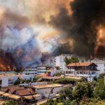 Սարսափելի հրդեհ Թուրքական Մարմարիս քաղաքը (29.07.2021)