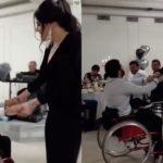 Պատերազմից վերադարձած, անվասայլակով տեղաշարժվող տղայի և կնոջ հուզիչ պարը (Video)